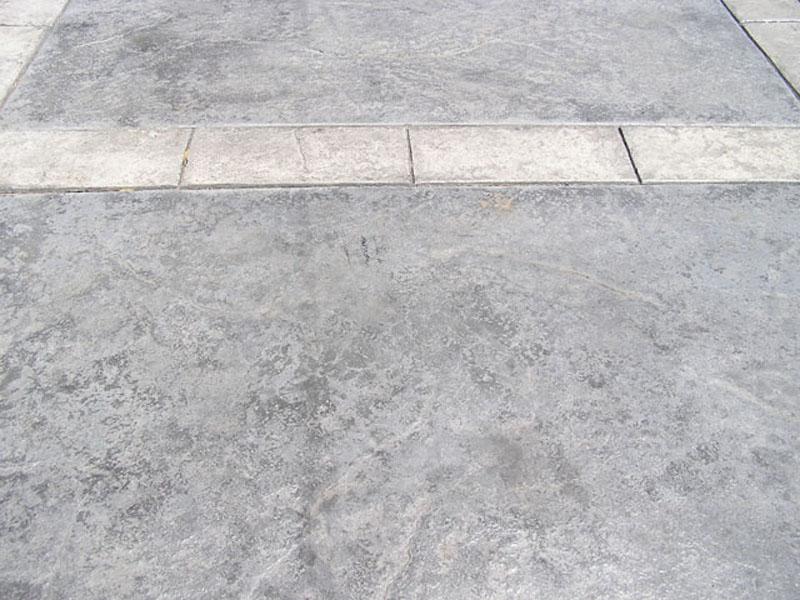 Stamped Driveway Pattern