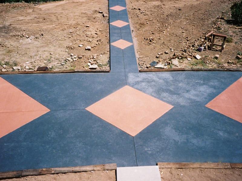 Diamond Walkway